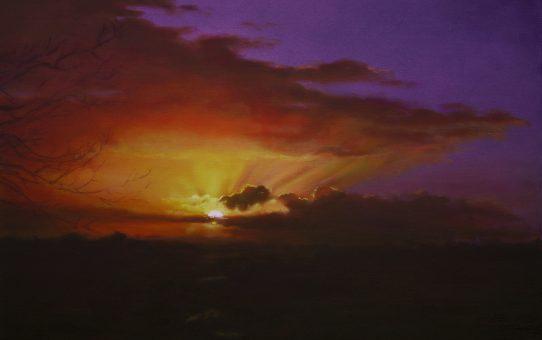 Brilliant sunrise, Kardinya, Western Australia