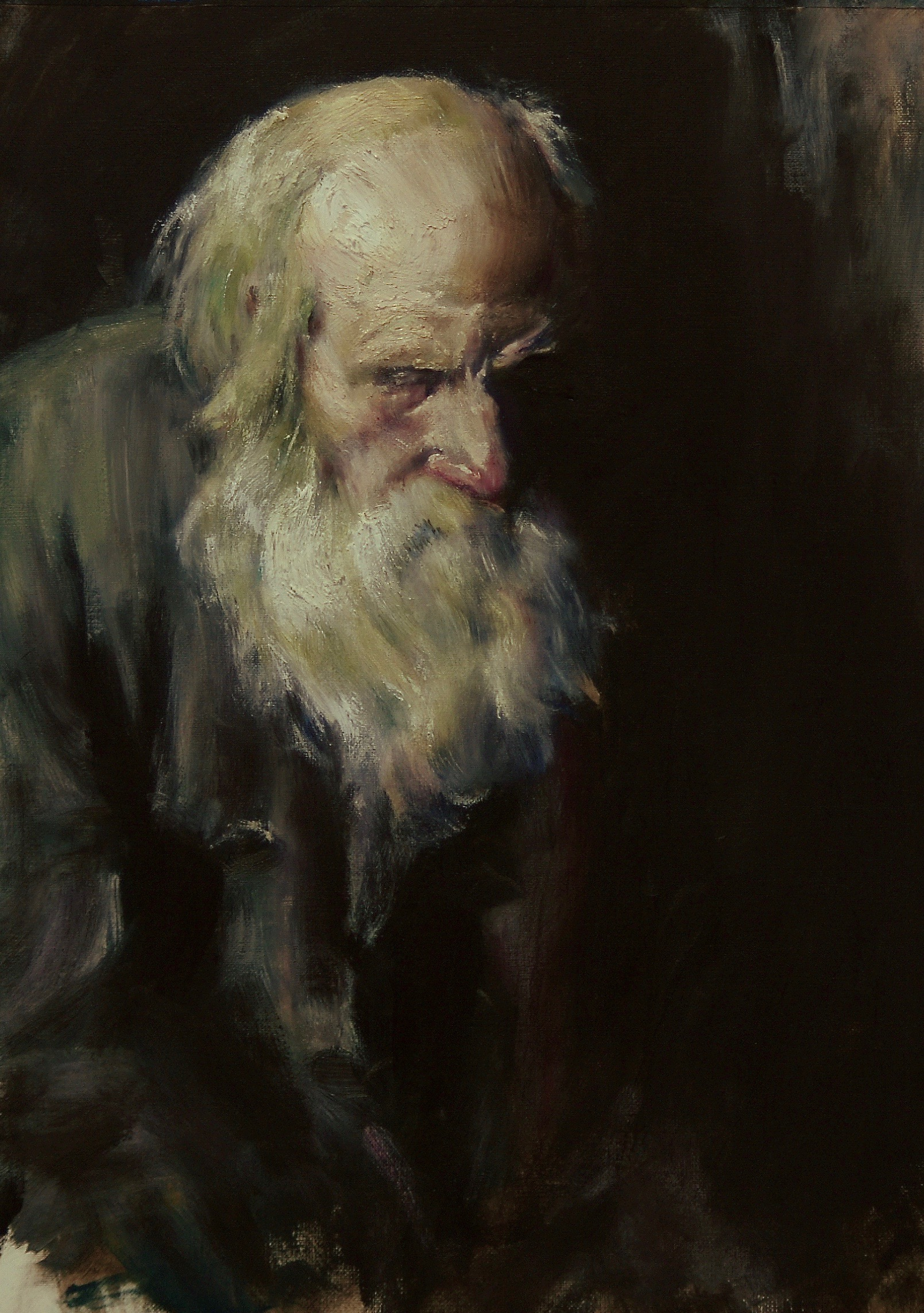 "Study of ""An Old Man"" (orig. by Abram Arkhipov)"
