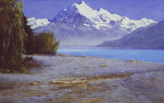 Aoraki Mount Cook New Zealand landscape oil painting