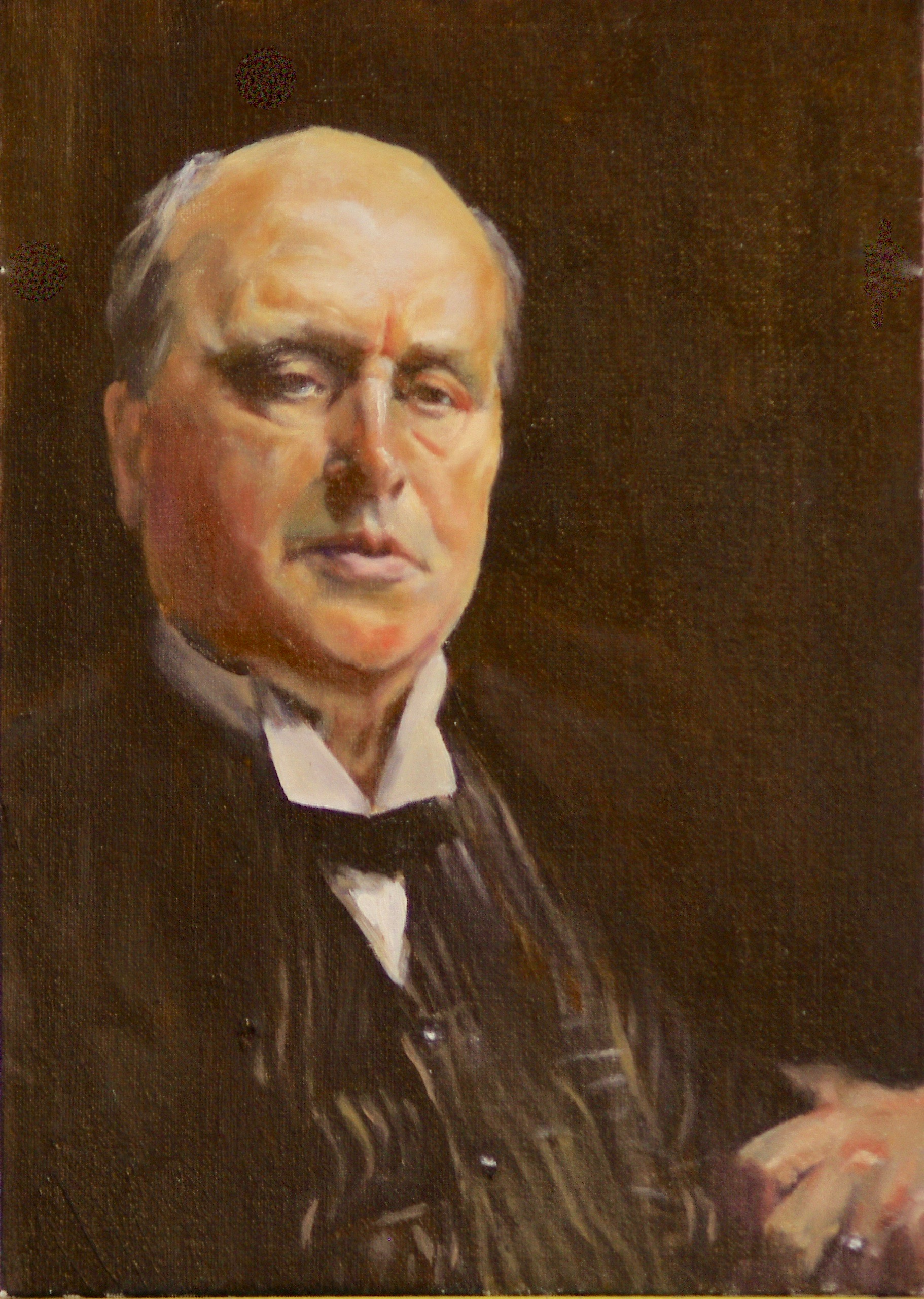 Reproduction of John Singer Sargent's painting of Henry James