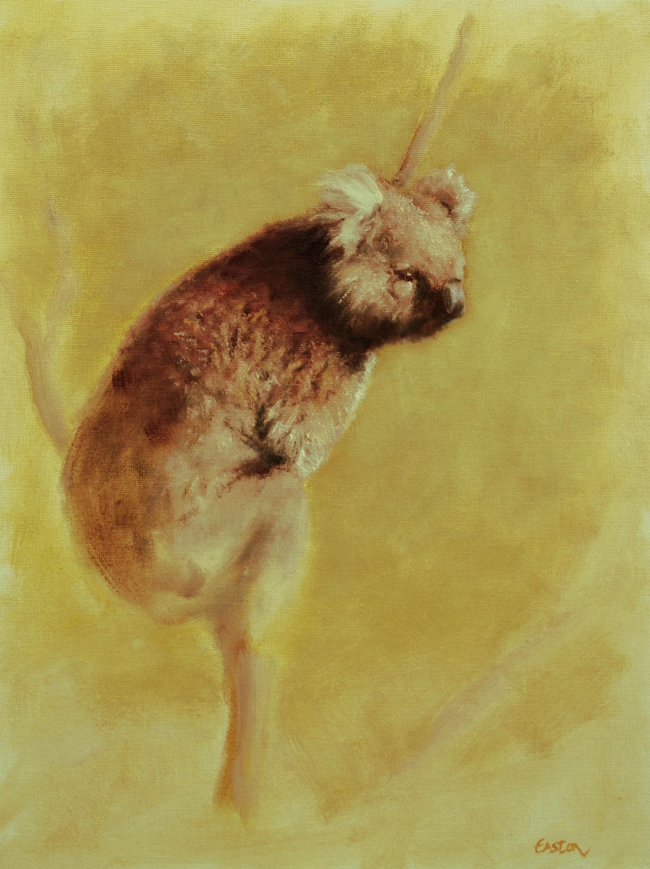 Australian koala painting