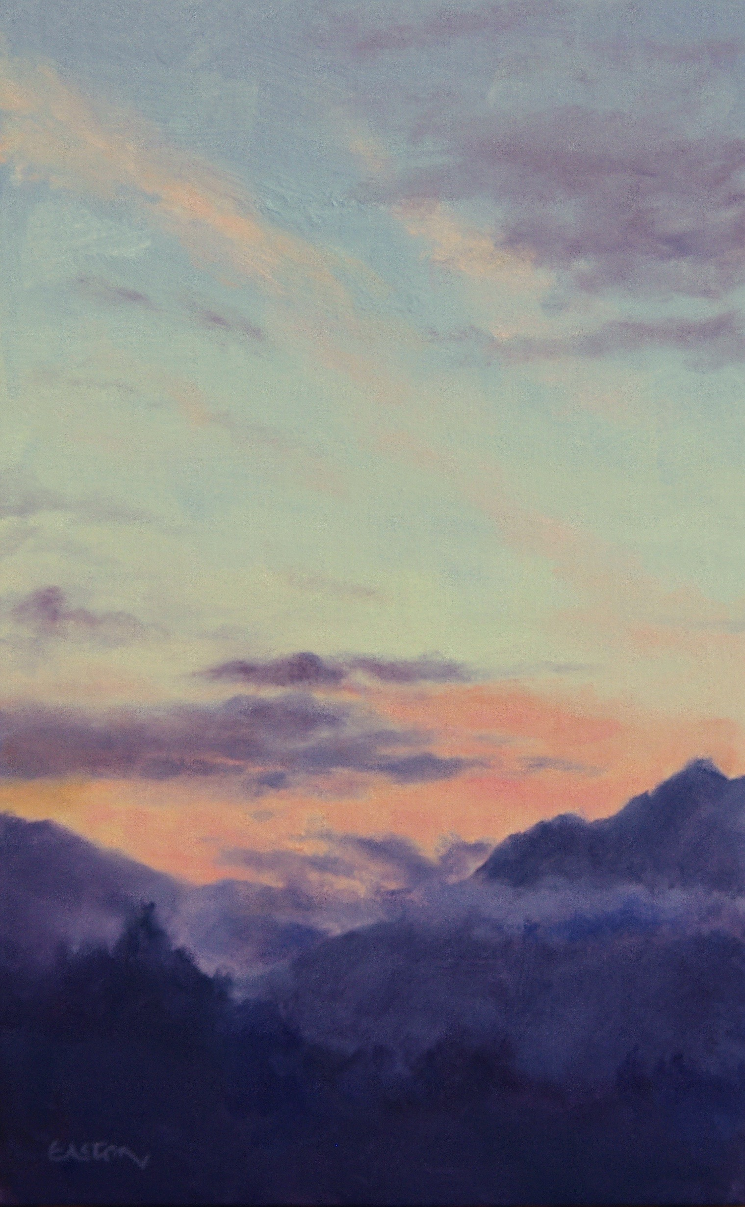 sunrise, mountains, clouds, queenstown