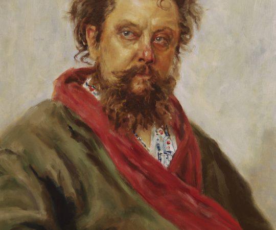 Modest Mussorgsky study (original by Ilya Repin)