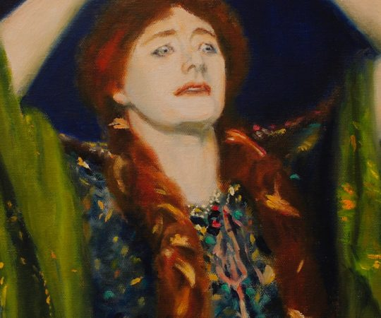 Reproduction of John Singer Sargent's Ellen Terry as Lady MacBeth