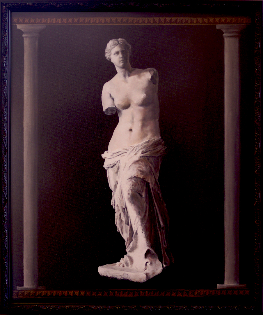 Painting of the statue Venus de Milo
